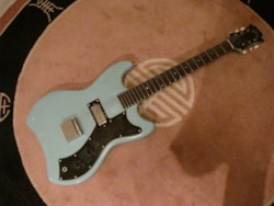 1964 Guild Jet Star S-50 BLUE