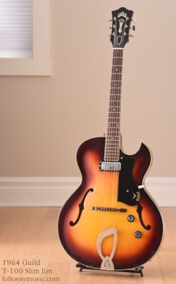 1964 Guild Slim Jim T-100