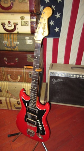 1964 Hagstrom Hagstrom III Triple Pickup Red, Excellent, GigBag