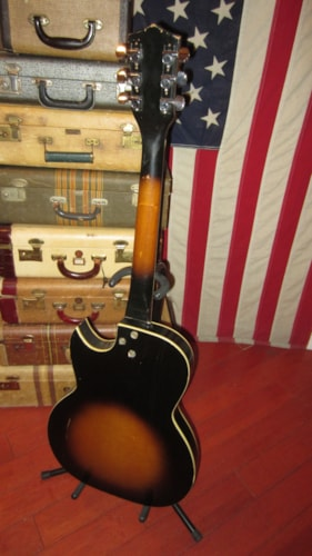 1964 Kay 3 Pickup Speed Demon Sunburst, Excellent, GigBag, $695.00