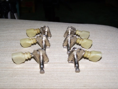 ~1969 Kluson Tuning Keys Nickel