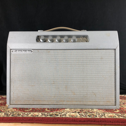 ~1964 Rickenbacker Model B14A Amp 1x12 Grey Tolex