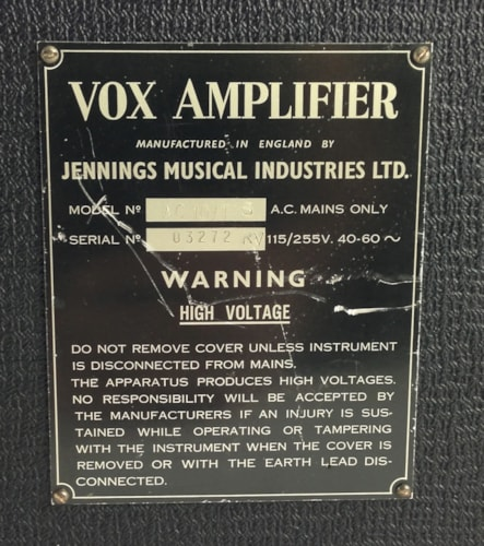 1964 Vox AC-10 Super Reverb Twin > Amps & Preamps | Thunder