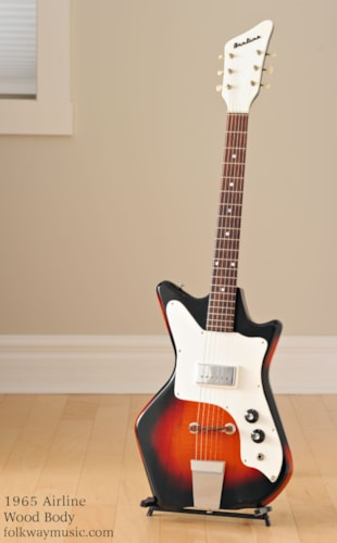 1965 Airline Wood Body Excellent, Original Hard, $1,119.00