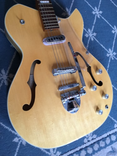 1965 BALDWIN 113302 Hollow Body Electric Natural, Excellent, Original Hard