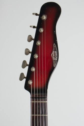 1965 Baldwin - Burns Jazz Split Sound red/black sunburst Polyester
