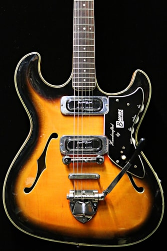 1965 Burns TR-2 Sunburst, Near Mint, Hard, Call For Price!