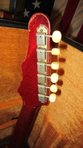 1965 Epiphone Coronet Cherry Red, Excellent, Hard