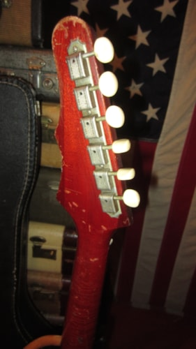 1965 Epiphone Coronet Cherry Red, Excellent, Soft, $2,199.00