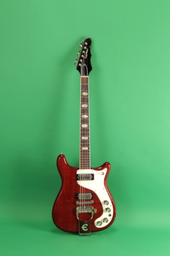 1965 Epiphone Crestwood Cherry, Excellent, Original Hard
