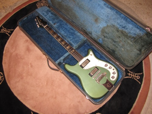 1965 Epiphone Crestwood Custom Pacific Blue