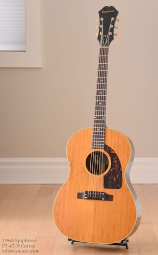 1965 Epiphone FT-45 N Cortez Excellent, Original Soft, $1,516.00