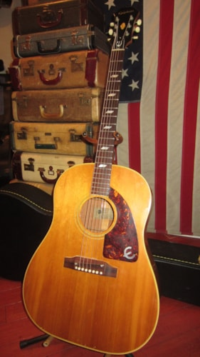 1965 Epiphone FT-79 Texan Natural