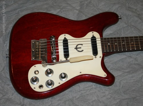 1965 Epiphone Olympic (#EPE0017) Cherry Red, Excellent, Soft
