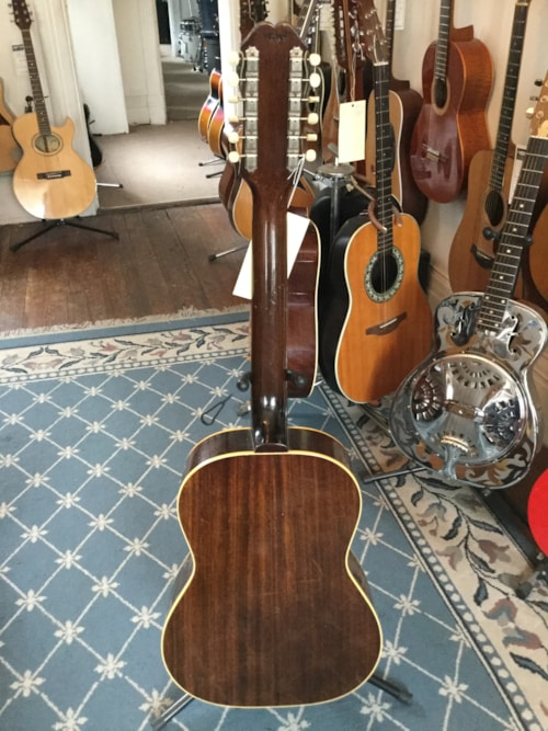 1965 epiphone serenader ft 85 12 string acoustic guitar natural guitars acoustic mikes music. Black Bedroom Furniture Sets. Home Design Ideas