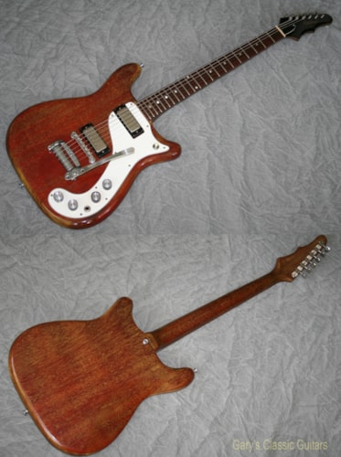 1965 Epiphone Wilshire (#EPE0283) Red Fox, Excellent, Original Soft
