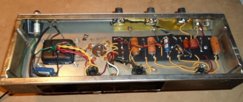 1965 Fender Champ Blackface, August 1965 > Amps & Preamps