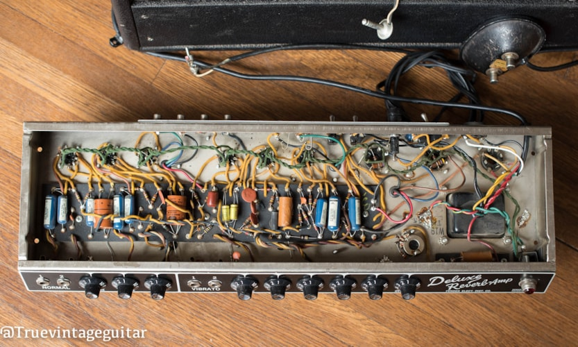1965 Fender Deluxe Reverb Very Good, Call For Price!