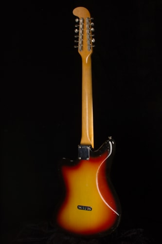 1965 Fender® Electric XII 3-Tone Sunburst, Near Mint, Original Hard, $4,500.00