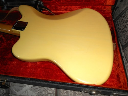 1965 Fender® Jaguar® Blond, Excellent, Original Hard