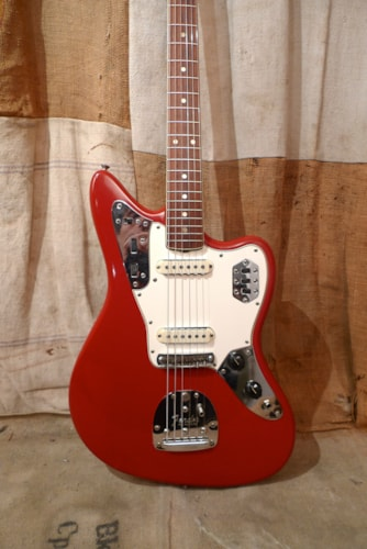 1965 Fender Jaguar Dakota Red - Refin, Very Good, Hard