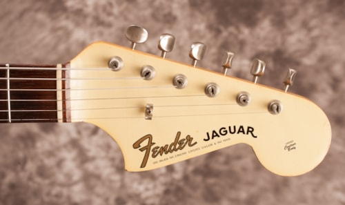 1965 Fender Jaguar Olympic White