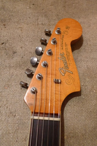 1965 Fender® Jazzmaster™ Sunburst, Very Good, Hard, $3,400.00