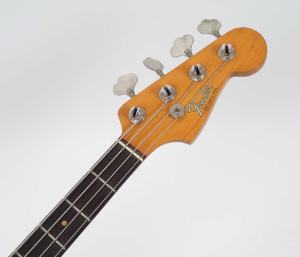 1965 Fender Precision Bass Red Refin, Very Good, Hard, $3,595.00