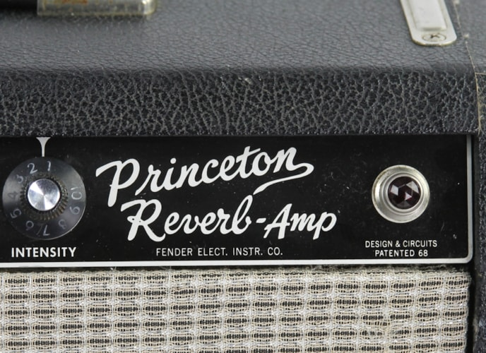 1965 Fender® Princeton® Reverb Blackface, Very Good, $2,499.00