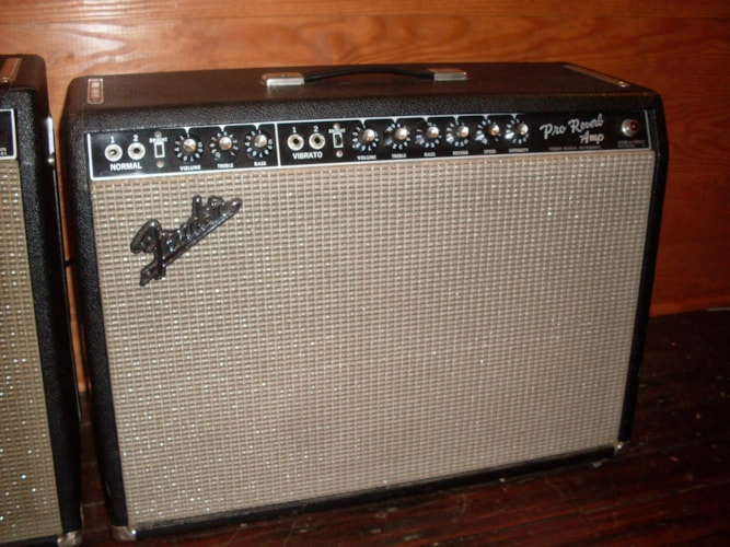 1965 Fender® Pro Reverb Black, Excellent, $2,700.00