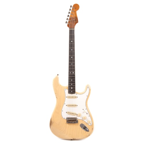 "Fender Custom Shop 1965 Stratocaster ""Chicago Special"" Ash Relic Aged Vintage Blonde w/Roasted Bound Neck (Serial #R101843)"