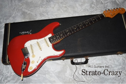 1965 Fender Stratocaster Dakota Red/Rose neck