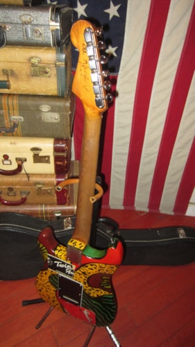 1965 Fender® Stratocaster® Psychedelic Peace Paint, Very Good, Hard, $2,995.00