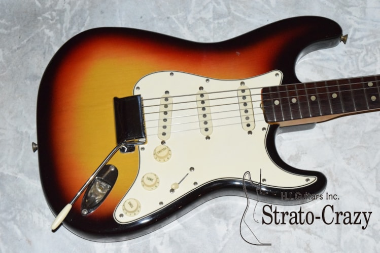 1965 Fender Stratocaster Sunburst, Near Mint, Call For Price!