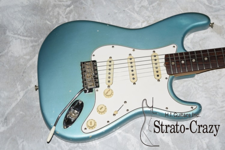 1965 Fender® Stratocaster® Teal Green Metallic, Excellent, Original Hard, Call For Price!