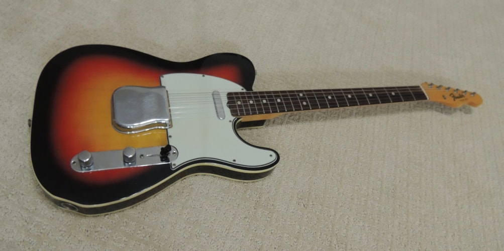 1965 Fender® Telecaster® Custom Near Mint, Original Hard, Call For Price!