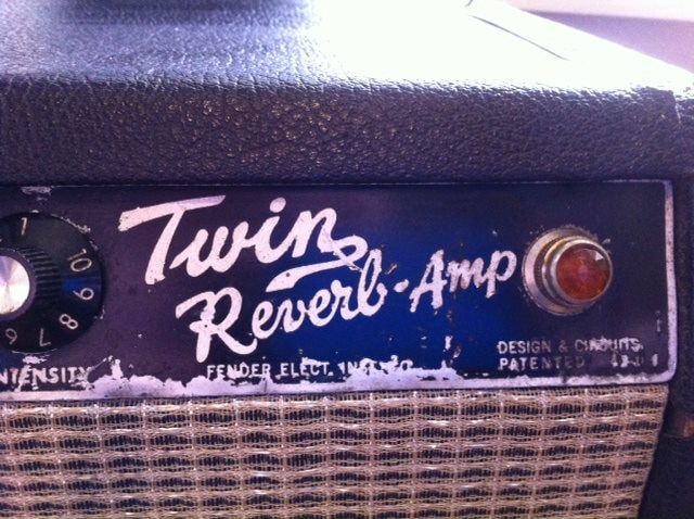 1965 Fender® Twin Reverb® Black, Good, Call For Price!