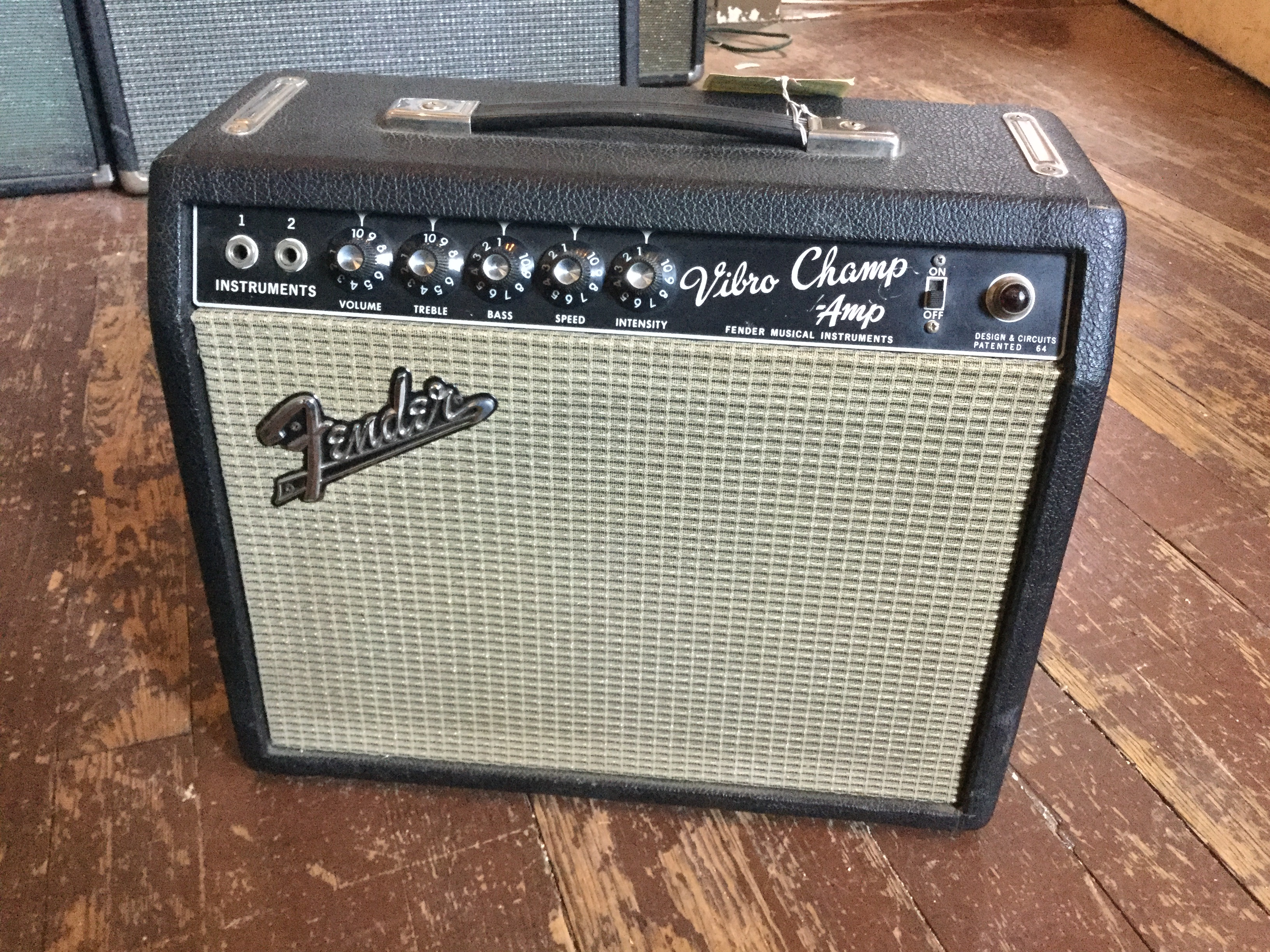 1965 Fender Vibro Champ Amp Amps Preamps Mikes Music