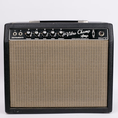 1965 Fender® Vibro Champ® Amp 1x8 combo Very Good, $879.00