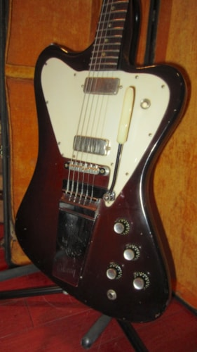1965 Gibosn Firebird V Sunburst, Excellent, Original Hard