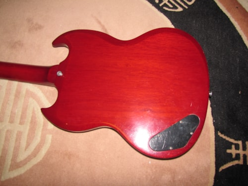1965 Gibson EB-0 Cherry red (vibrant)