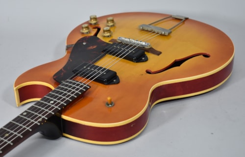 1965 Gibson ES-125 TCD Sunburst Vintage Electric Hollowbody Guitar P-90 w/HSC