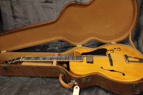 1965 Gibson ES-175-N Natural Rare Single Pickup Model with Original Case