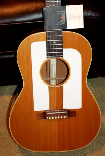 1965 Gibson F-25 Natural, Excellent, Original Soft