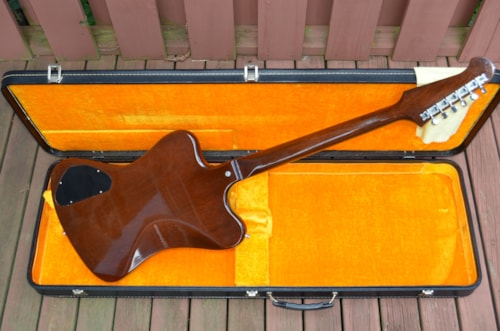 1965 Gibson Firebird III Sunburst, Near Mint, Original Hard