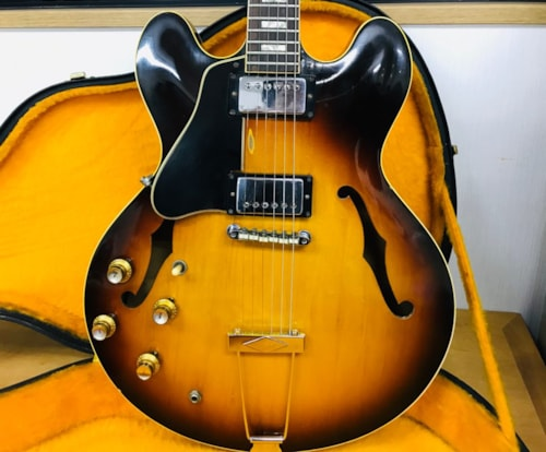 Left Handed, Lefty 1965 Gibson ES-335TD, 100% Original with OHSC, EXC!