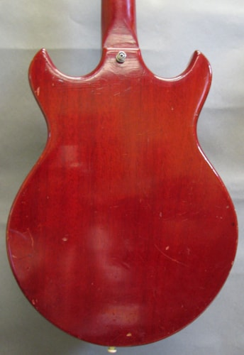 1965 Gibson Melody Maker Cherry, Very Good, GigBag