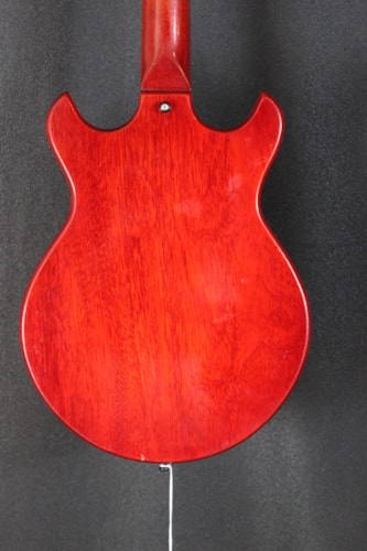 1965 Gibson Melody Maker D Red, Very Good, Original Hard