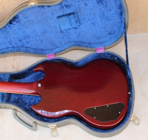 1965 Gibson SG Cherry Red