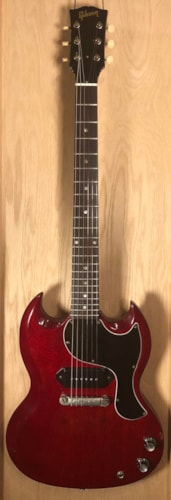 1965 Gibson SG Junior Cherry, Excellent, Original Hard